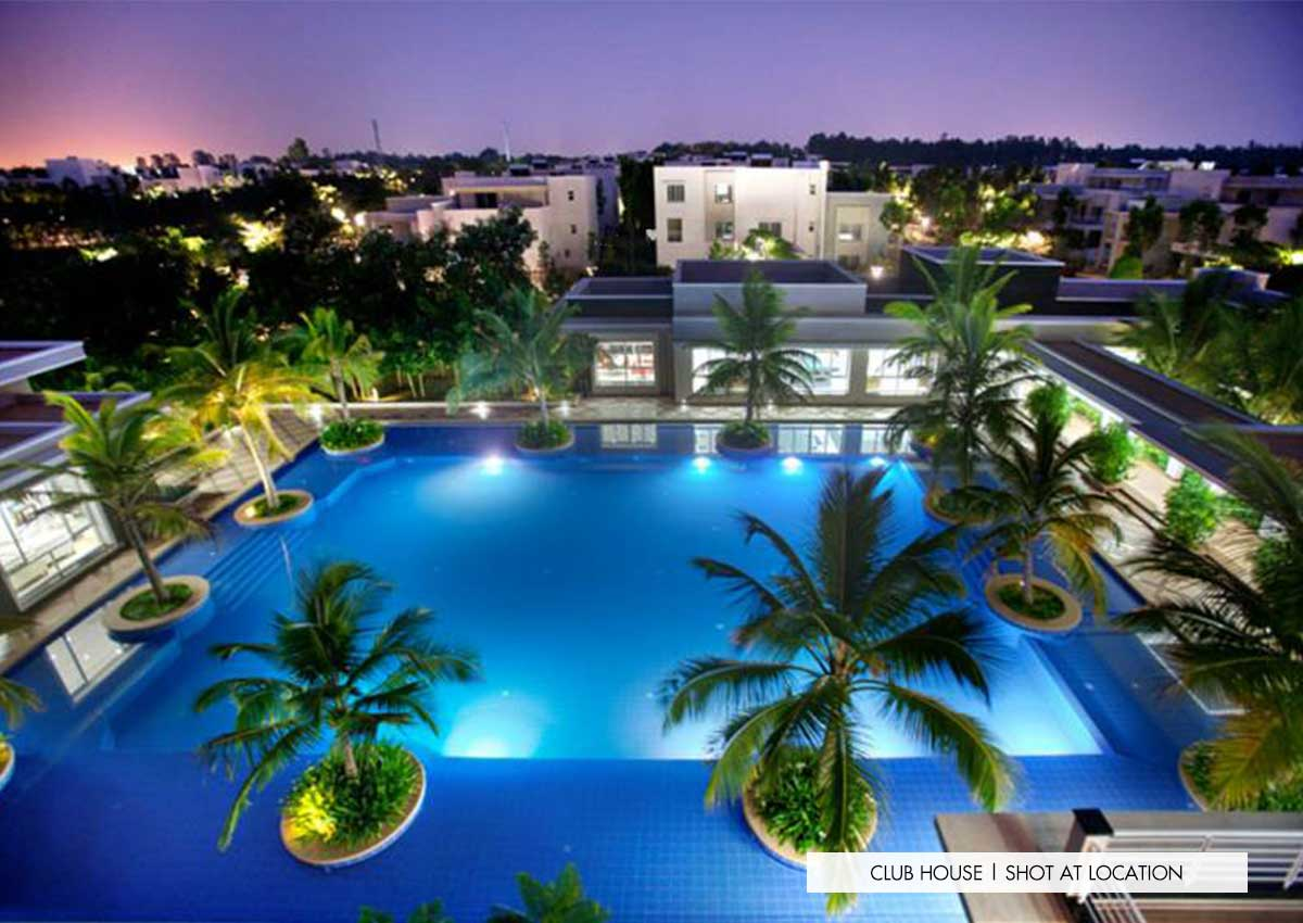Sobha lifestyle clubhouse swimming pool